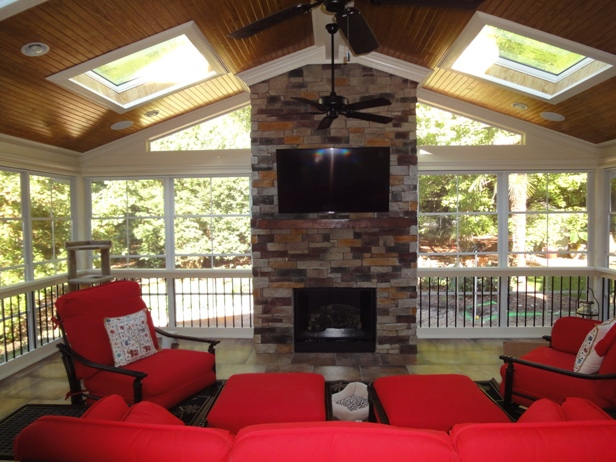 Stone Fireplaces and other features