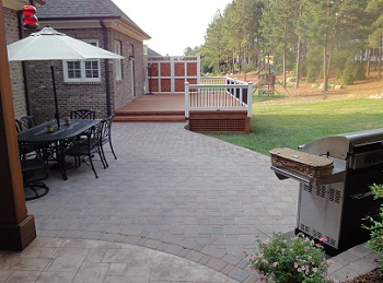 stone Patios by Raleigh Deck Builder