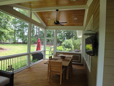 raleigh deck and screen porch builder customer reviews